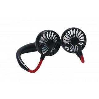 首掛けネック扇風機ハンディ夏暑い時期に(扇風機)