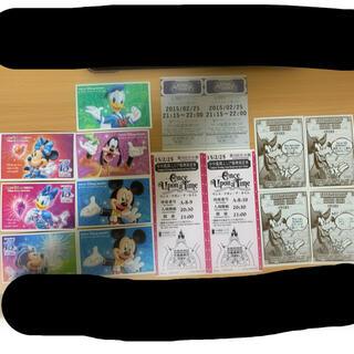 ディズニー(Disney)の使用済み ディズニーチケット(遊園地/テーマパーク)