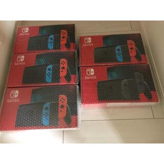 ニンテンドースイッチ(Nintendo Switch)の新型【新品未開封】ニンテンドースイッチ 本体 Nintendo Switch(家庭用ゲーム機本体)