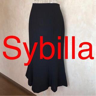 シビラ(Sybilla)の★Sybilla/シビラ★極美品★ミモレ丈スカートM(9号)(ロングスカート)