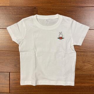 MUJI (無印良品) - miffy  ワッペン付 Tシャツ 90