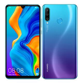 HUAWEI - 【Huawei】p30 lite simフリー ピーコックブルー