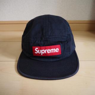 Supreme - supreme/washed twillchino campcap navy