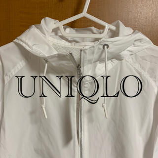 UNIQLO - 新品タグ付☆UNIQLO オーバーサイズパーカ ナイロンジップパーカ Lサイズ