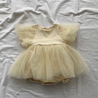 ロンパース ベビースーツ セレモニー ドレス 韓国子供服 concocter M(ロンパース)