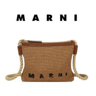 Marni - 新品未使用★MARNI マルニ バーラップ ラフィア ロープショルダーバッグ