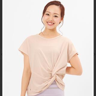 SUKALA スカーラ ウェア ヨガウェア Tシャツ 半袖 ベージュ トップス