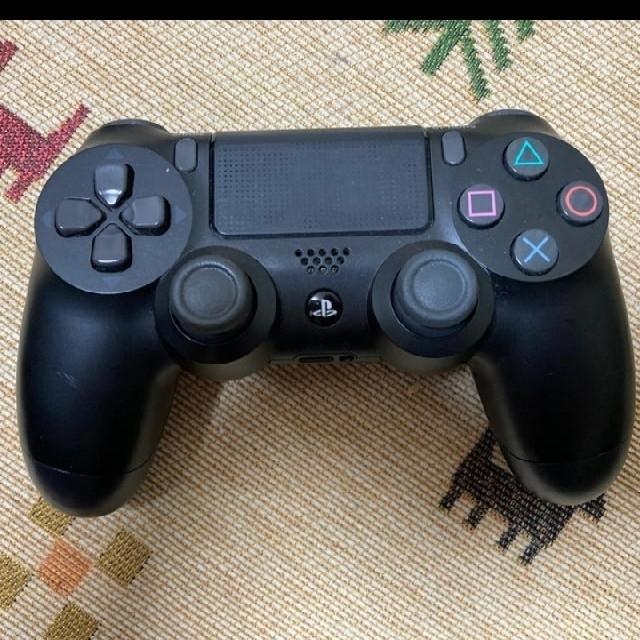 PlayStation4(プレイステーション4)のps4 (CUH-2000A Jet Black 500GB) エンタメ/ホビーのゲームソフト/ゲーム機本体(家庭用ゲーム機本体)の商品写真