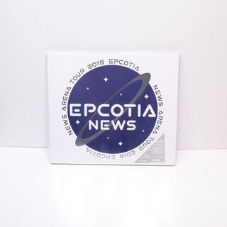 ニュース(NEWS)の美品◆NEWS◆ARENA TOUR 2018 EPCOTIA◆DVD◆初回盤(ミュージック)