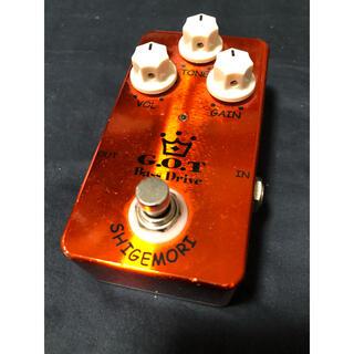 shigemori g.o.t. bass drive(ベースエフェクター)