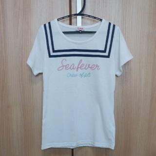 PINK-latte - ピンクラテ XS(140) 半袖 Tシャツ 白
