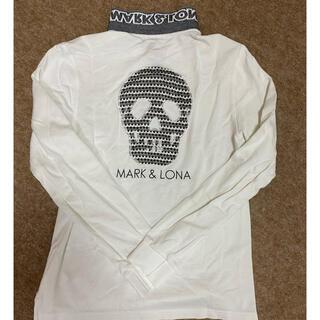 マークアンドロナ(MARK&LONA)の値下げ❗️マークアンドロナMARK&LONA ミッキー 長袖ポロシャツ Lサイズ(ポロシャツ)