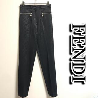 FENDI - 【激レア】FENDI スラックス パンツ ズッカ柄  M相当