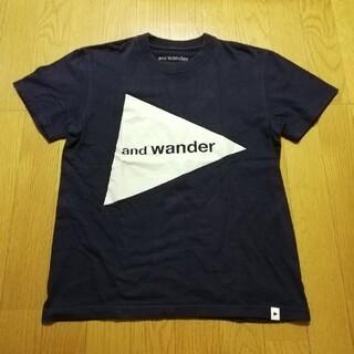アンドワンダー   and  wander   T シャツ(Tシャツ(半袖/袖なし))