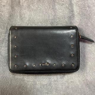 agnes b. - アニエスベー 本革 二つ折り財布