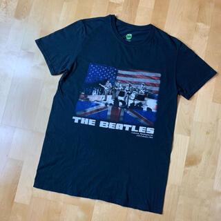 THE BEATLES ビートルズ 半袖Tシャツ 黒 ブラック M 2016