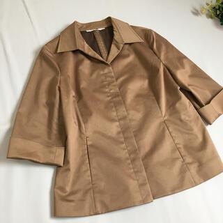 ニジュウサンク(23区)の大きいサイズ 23区 ショートスプリングコート 羽織り ジャケット  (テーラードジャケット)