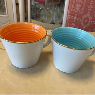 ザラホーム(ZARA HOME)のZARA HOME ペアマグカップ(グラス/カップ)