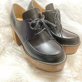 アシナガオジサン(あしながおじさん)のあしながおじさん 厚底パンプスローファー22.5cm(ローファー/革靴)