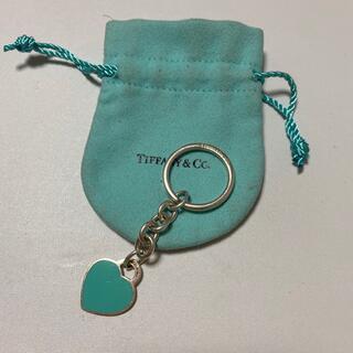 ティファニー(Tiffany & Co.)のティファニー ハートタグ キーホルダー(キーホルダー)