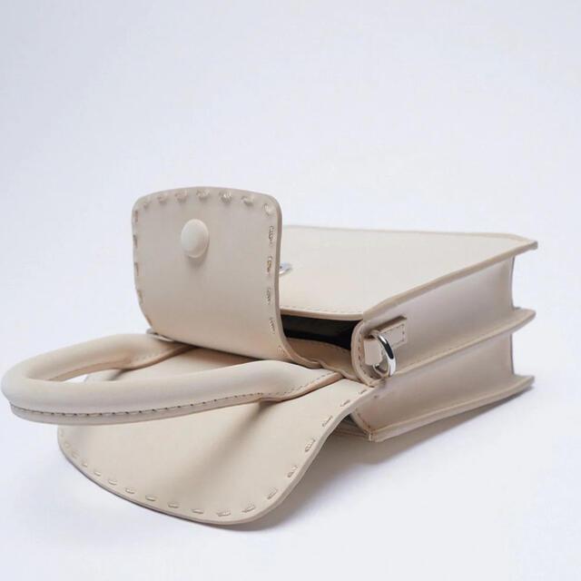 ZARA(ザラ)のZARA トップステッチ ミニ クロス ボディ バッグ レディースのバッグ(ショルダーバッグ)の商品写真
