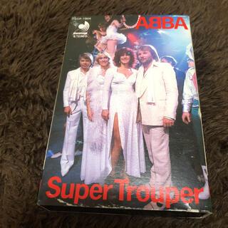 ABBA  スーパートゥルーパー  カセットテープ