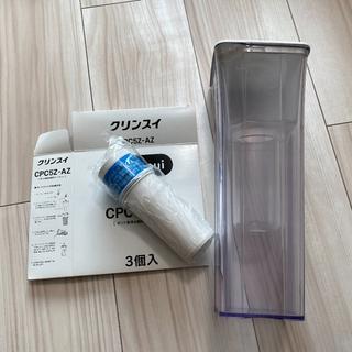 ミツビシ(三菱)のクリンスイ ポット型浄水器 カートリッジセット(浄水機)