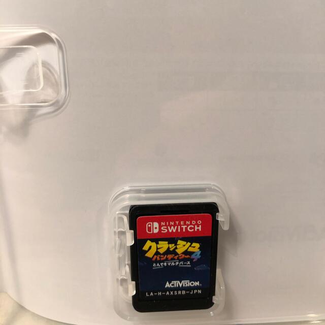 Nintendo Switch(ニンテンドースイッチ)のクラッシュバンディクー4 とんでもマルチバース  エンタメ/ホビーのゲームソフト/ゲーム機本体(家庭用ゲームソフト)の商品写真