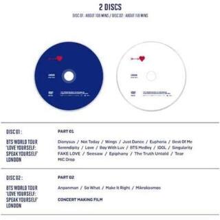ボウダンショウネンダン(防弾少年団(BTS))のBTS LYS2019❤ウェンブリースタジアム❤炎上 チャプター付き高画質(ミュージック)