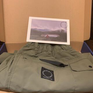 山と道 One Tuck 5-Pocket Pants/Olive/M 新品