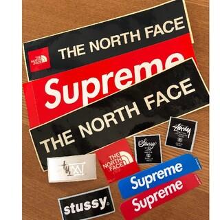 シュプリーム(Supreme)の激安10枚 supreme&north face&suttsyステッカーセット(その他)