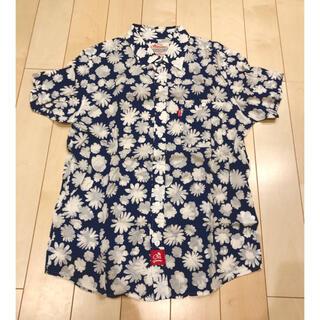 美品⭐︎オールドサマー old summer  半袖 コットンシャツ