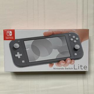 ニンテンドースイッチ(Nintendo Switch)のNintendo Switch Lite グレー 本体(携帯用ゲーム機本体)