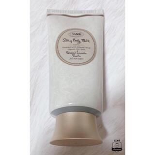 サボン(SABON)のSABON シルキーボディミルク パチュリ・ラベンダー・バニラ 200ml (ボディローション/ミルク)