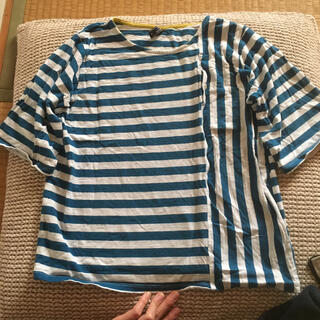 ノーザントラック(NORTHERN TRUCK)のnorthern truck  ボーダーtシャツ(シャツ/ブラウス(半袖/袖なし))