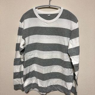 ユニクロ(UNIQLO)のユニクロ ボーダーTシャツ(Tシャツ/カットソー(七分/長袖))