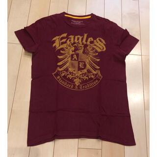 American Eagle - アメリカンイーグル Tシャツ  ヴィンテージボルドーカラー