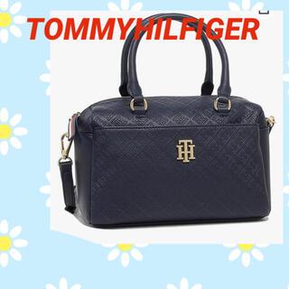 TOMMY HILFIGER - TOMMY HILFIGER    ショルダー ボストンバッグ美品✨