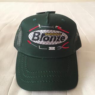 シュプリーム(Supreme)のBronze 56k 新作 Trucker Cap 緑 Dime Gx1000 (キャップ)