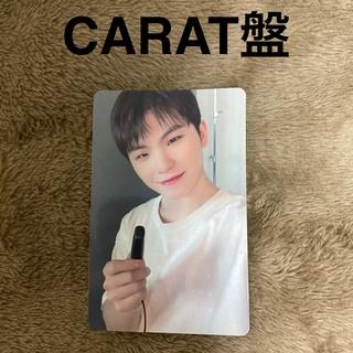 セブンティーン(SEVENTEEN)のSEVENTEEN ひとりじゃない トレカ CARAT盤 ウジ (K-POP/アジア)