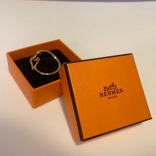 Hermes - 【良品・箱付き】Hermès エルメス スカーフリング ホルダー ジャンボ