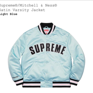 シュプリーム(Supreme)のSupreme Satin Varsity Jacket(スタジャン)