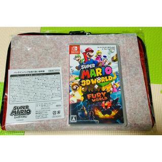 ニンテンドースイッチ(Nintendo Switch)のNintendo switch ソフト スーパーマリオ3Dワールド(家庭用ゲームソフト)
