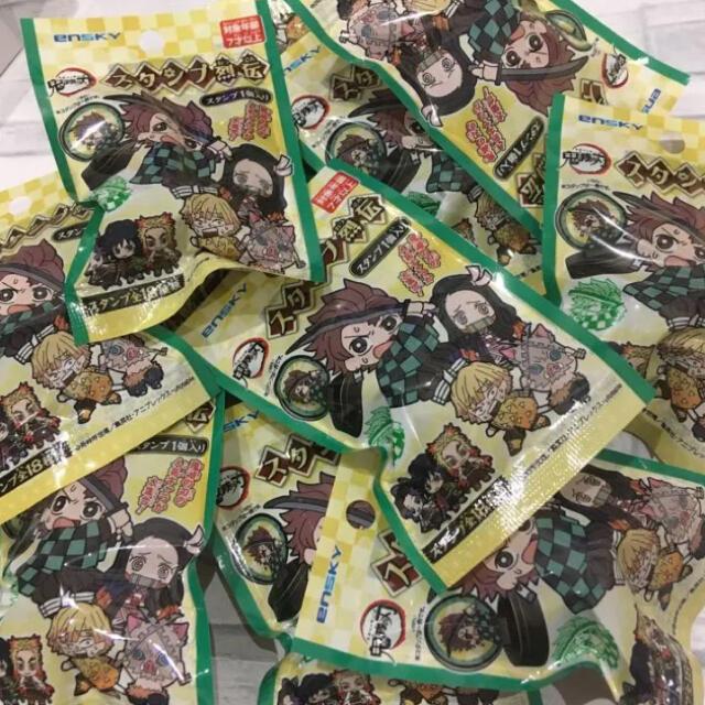 鬼滅の刃スタンプ 18個セット エンタメ/ホビーのおもちゃ/ぬいぐるみ(キャラクターグッズ)の商品写真