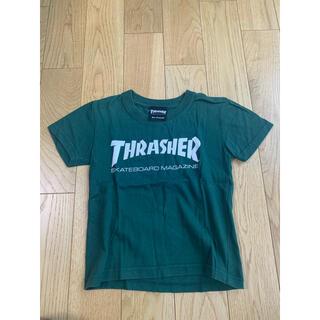 THRASHER - THRASHER MAGAZINE LOGO TEE GREEN 110