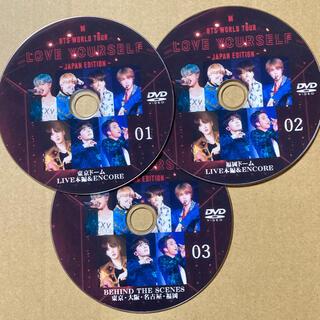 ボウダンショウネンダン(防弾少年団(BTS))のBTS WORLD TOUR LOVE YOURSELF 東京 福岡 DVD3枚(K-POP/アジア)
