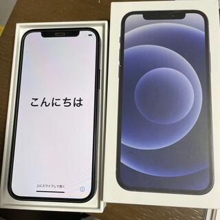 アイフォーン(iPhone)のiPhone12  black 64GB SIMフリー(スマートフォン本体)