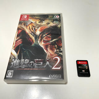 ニンテンドースイッチ(Nintendo Switch)の進撃の巨人2(家庭用ゲームソフト)
