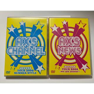 「AXS NEWS 」 「AXS CHANNEL」 DVD 2枚セット(ミュージック)