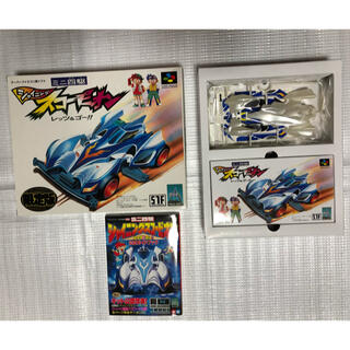 スーパーファミコン - 【初回限定オリジナル】スーパーファミコンソフト&ミニ四駆ボディ&ガイドブック